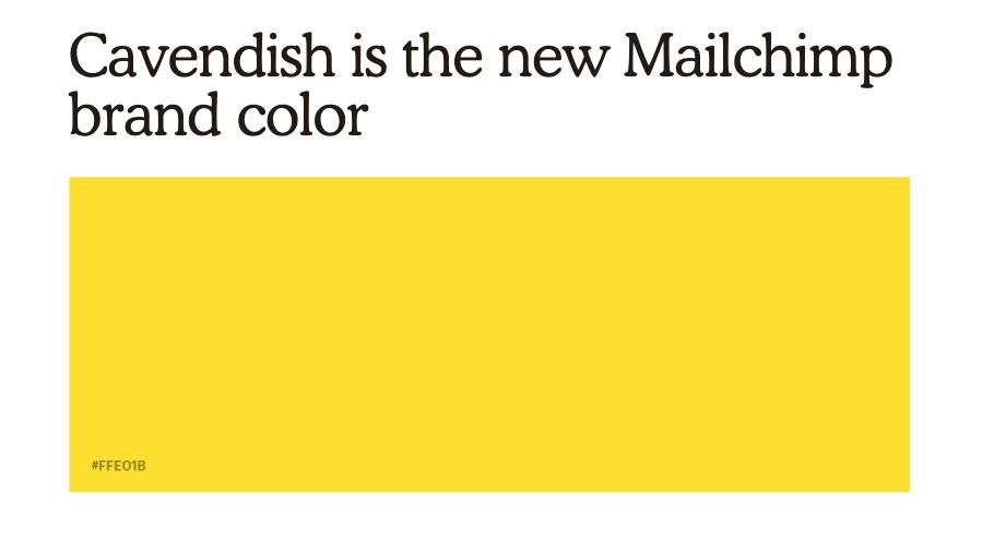 cavendish colour
