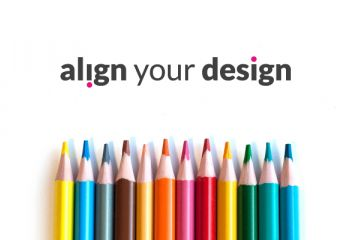 Align your design - How to manage your brand with a clear strategy and design thinking.
